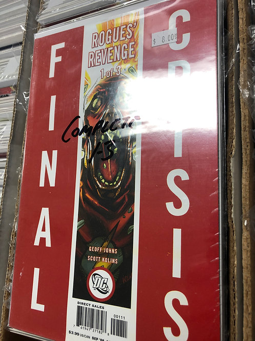 Final Crisis Rogue's Revenge 1-3
