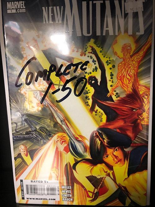 New Mutants Complete 1-50