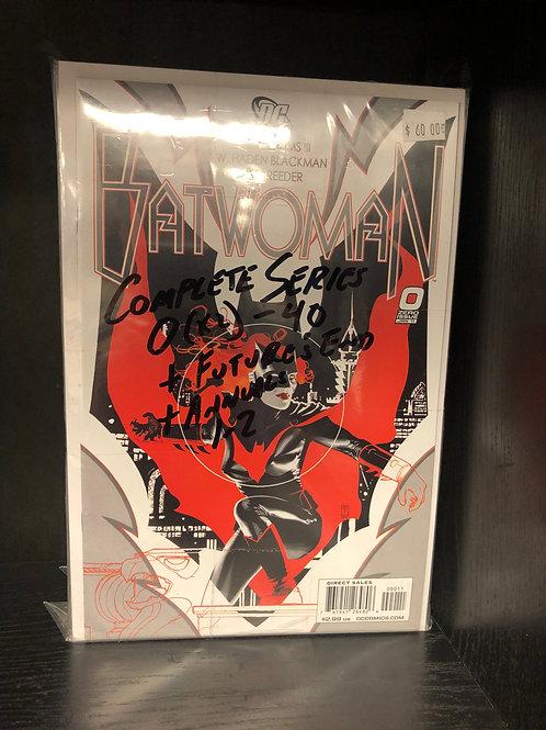 Batwoman 0, New 52 0-40 Plus 2 Annuals & Future's End