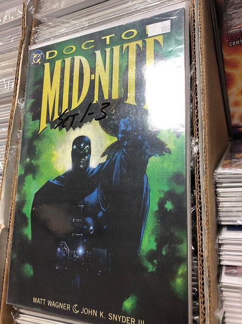 Doctor Mid-Nite 1-3