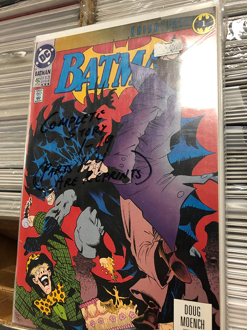 Batman Knightfall 1-19 (1-4 are reprints)