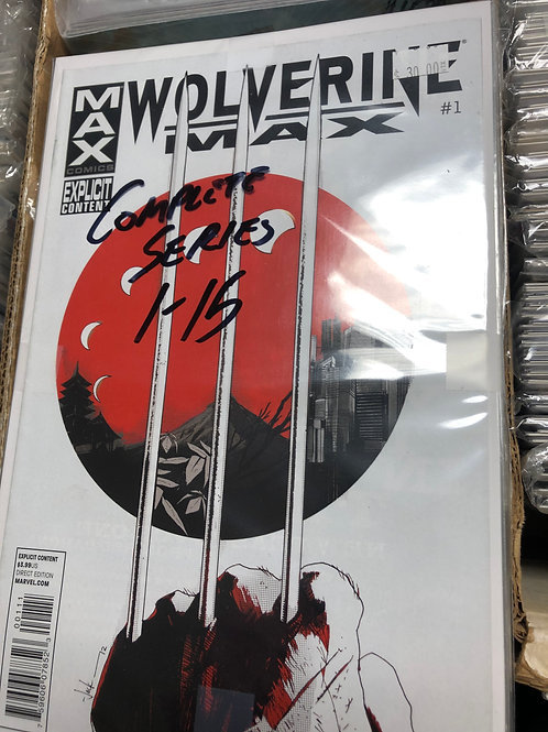 Wolverine Max Complete Series 1-15 18+