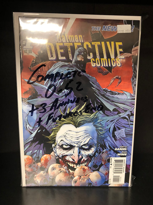 Detective Comics New 52 0-52 Plus 3 Annuals & Future's End