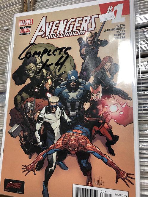 Avengers Millennium 1-4
