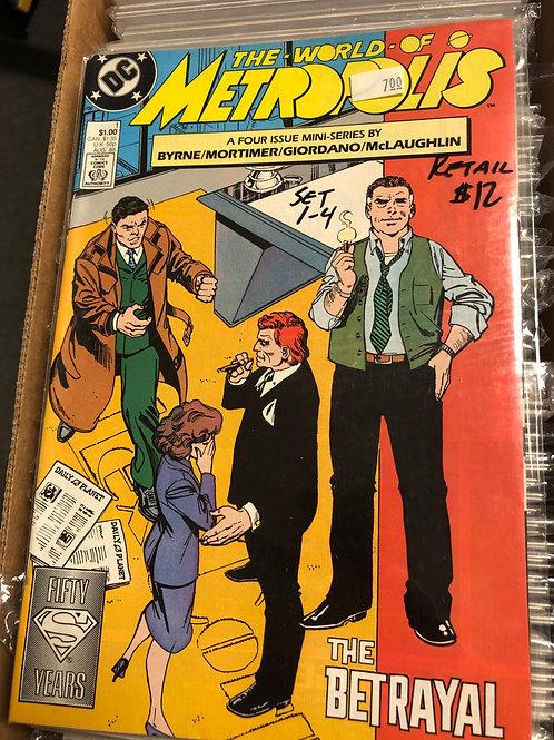 Superman World of Metropolis 1-4