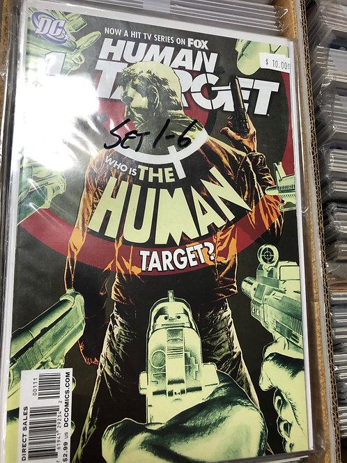 Human Target 1-6