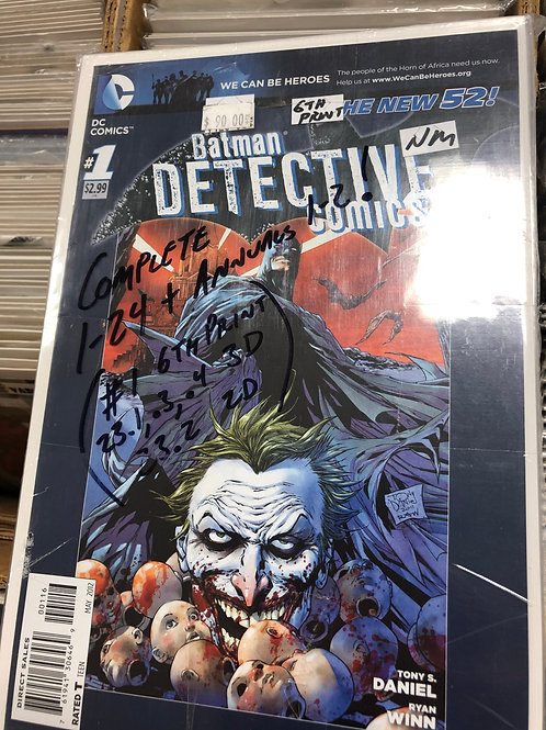 Detective Comics New 52 1-24 plus Annuals 1-2