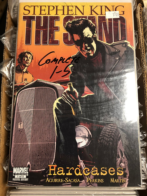 The Stand Hardcases 1-5