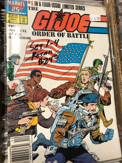 G.I. Joe Order of Battle 1-4