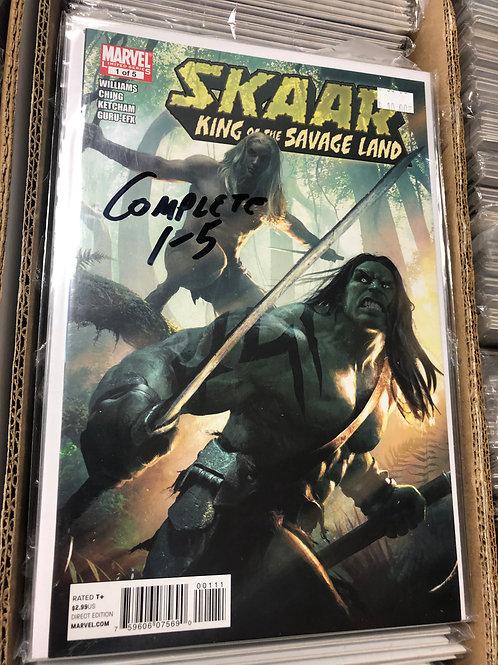Skaar King of the Savage Land 1-5
