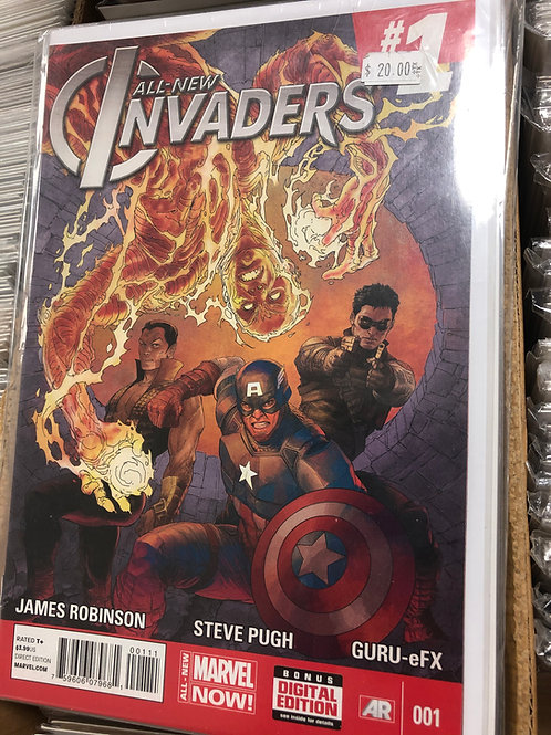 All New Invaders Complete Series 1-15