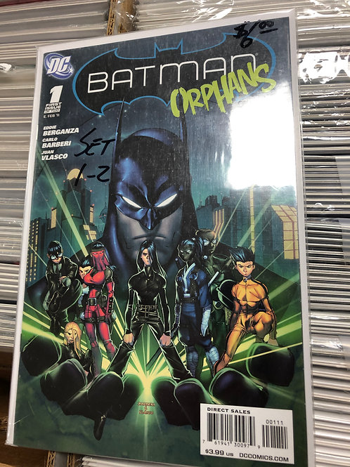 Batman Orphans 1-2
