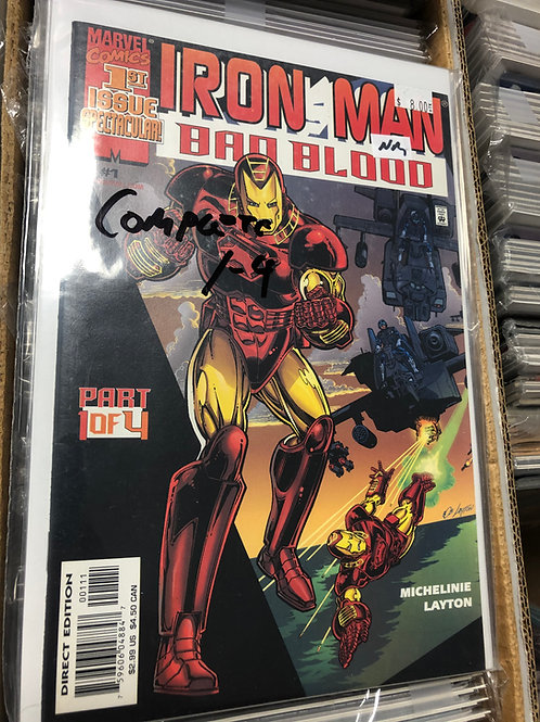 Iron Man Bad Blood 1-4