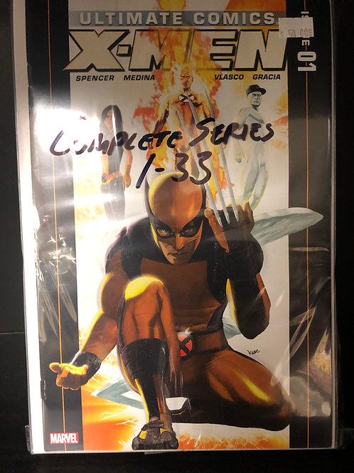 Ultimate X-Men Complete Series 1-33