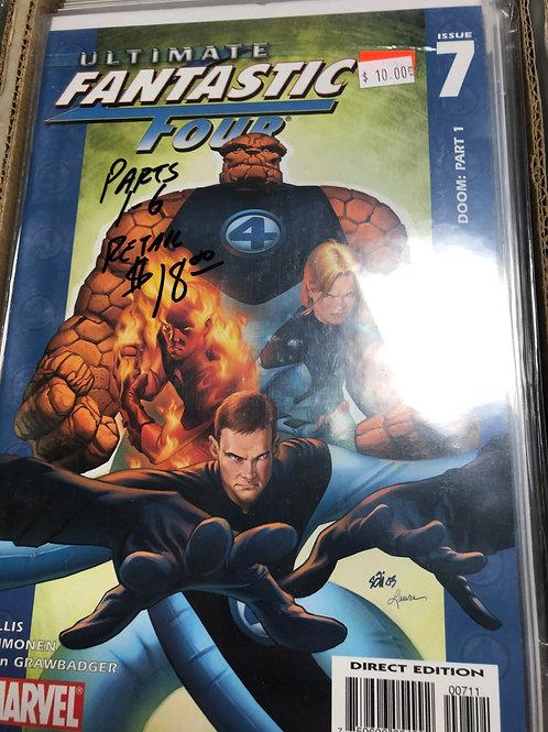 Ultimate Fantastic Four Doom 1-6