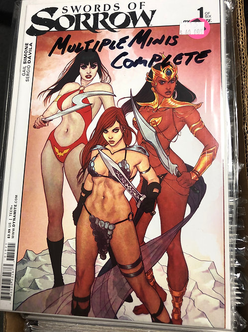 Swords of Sorrow (Multiple Complete Minis)