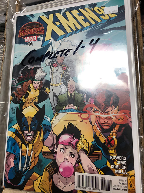 X-Men 92 Secret Wars 1-4