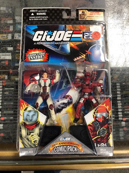 G.I. Joe 25th Anniversary Captain Ace & Wild Weasel