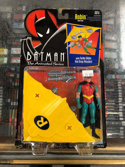 Batman Animated Series Robin With Turbo Glider
