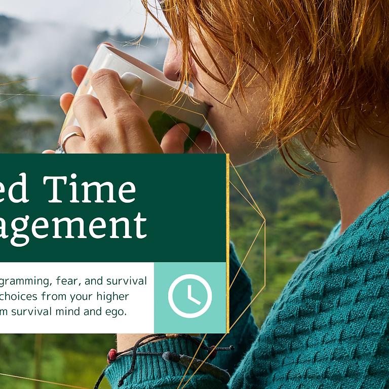 Sacred Time Management