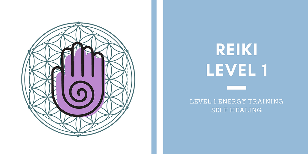Reiki Training - Level 1, Self Care