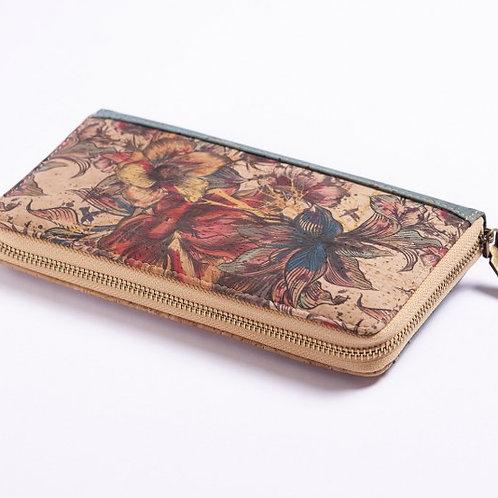 Design Brieftasche Flower