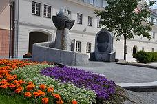 Brunnen in St. Lambrecht