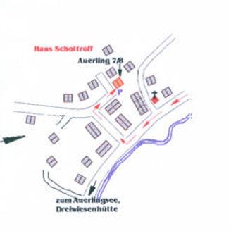 Lageplan Ferienhaus