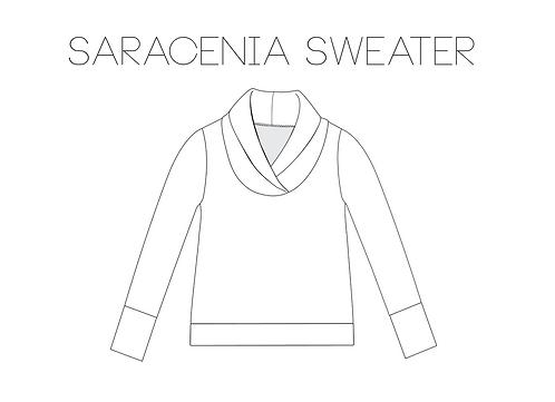 Saracenia Sweater Sewing Pattern (PDF)