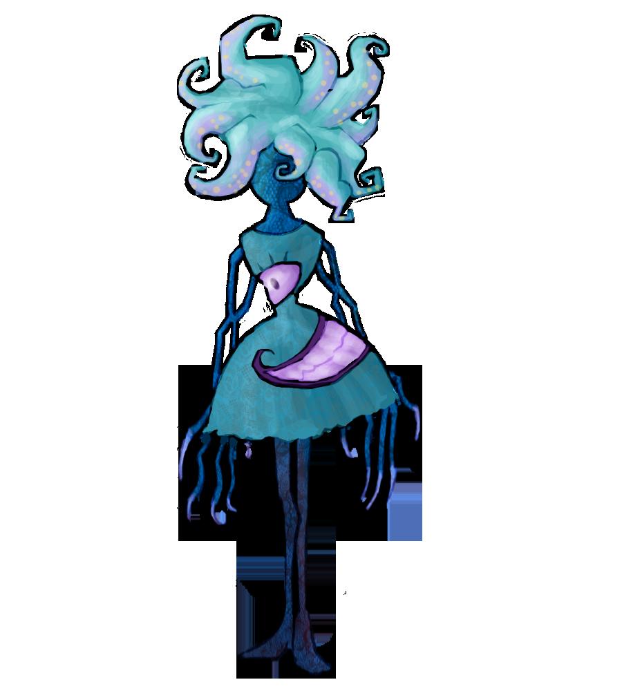 Final blue god concept