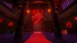 Red Base Mural