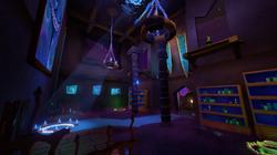 Blue Base Interior