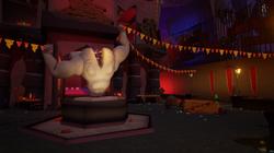 Red Base Courtyard