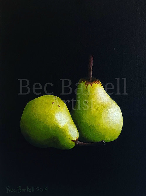 Pears Mini Poster Print