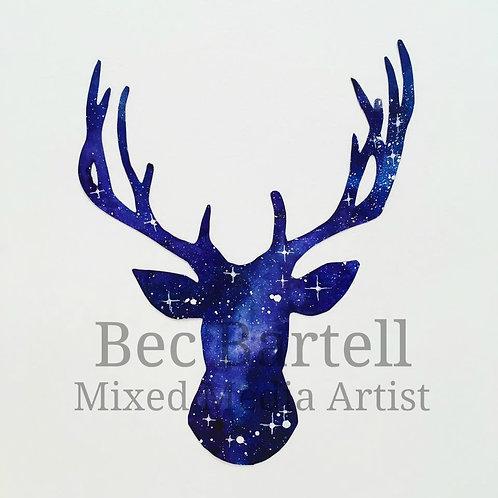 Space Deer Magnet