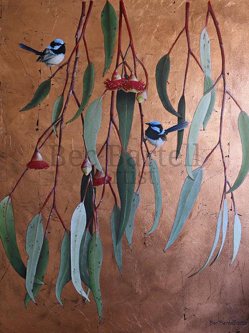 Flora and Fauna A5 Poster Print