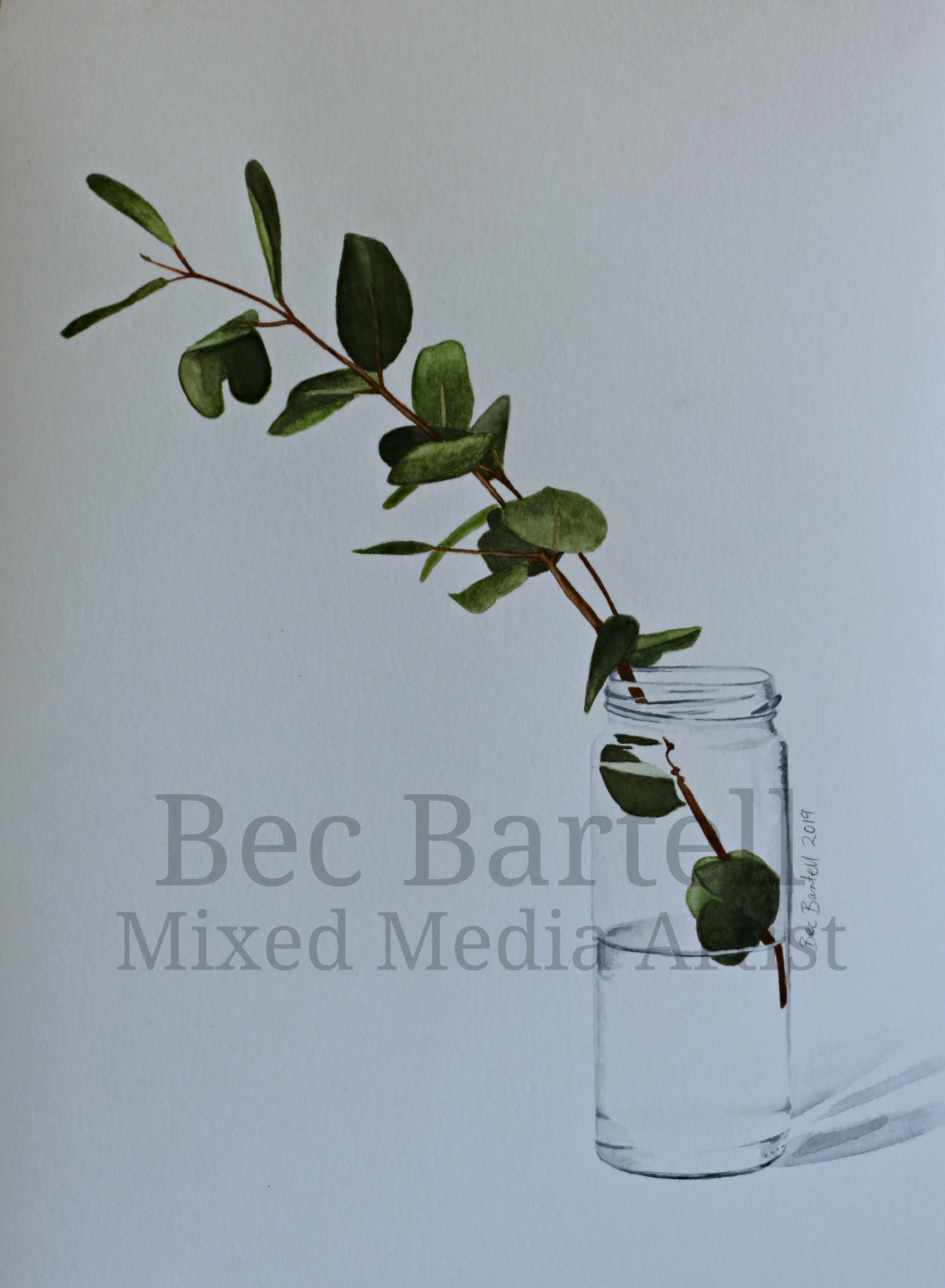 Eucalyptus Jar