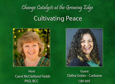 Cultivating Peace Radio Interview