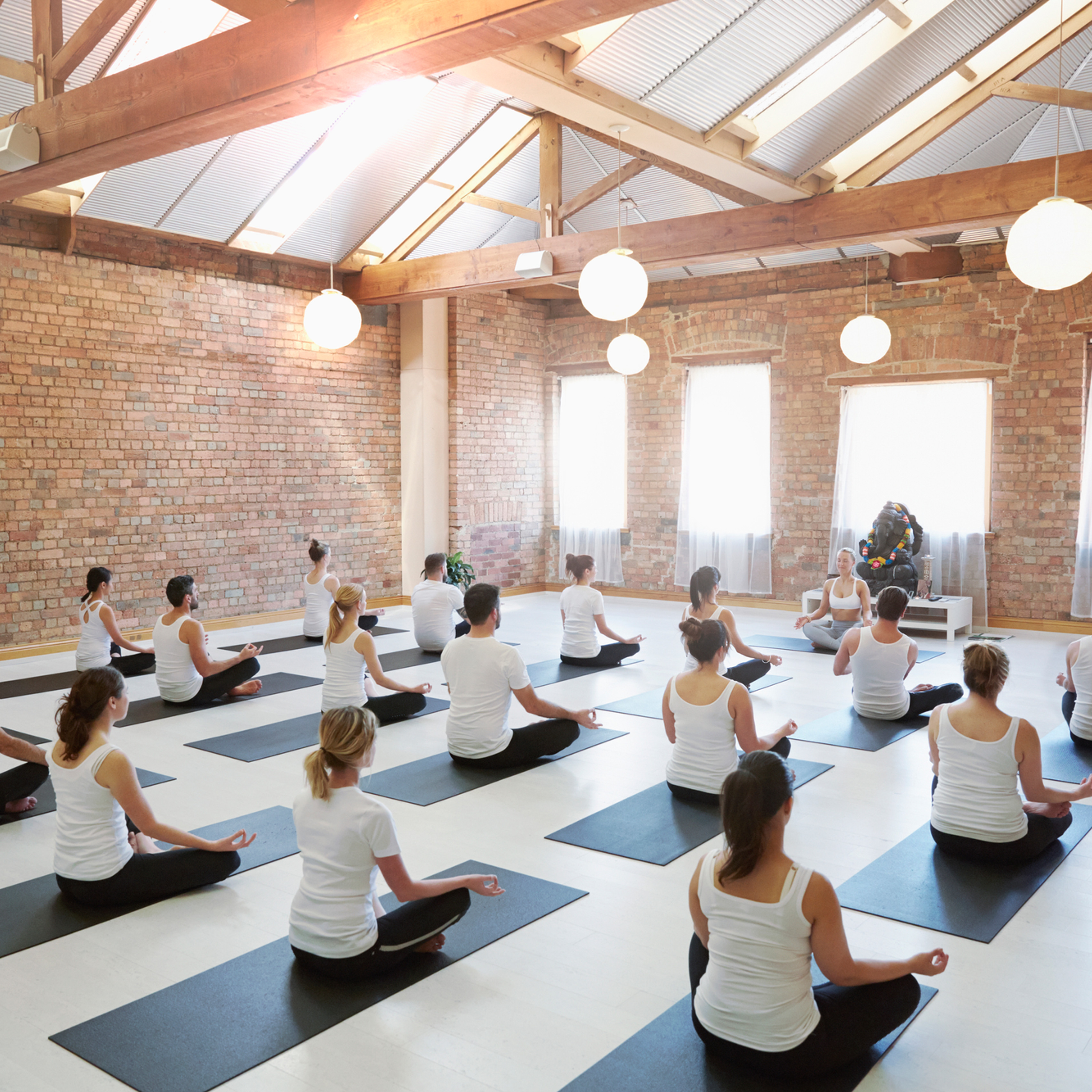 Team Building Yoga Session