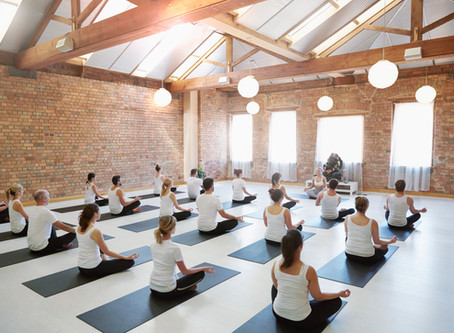Incorporating meditation into your studio