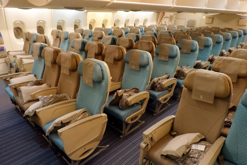 Singapore Airlines Economy class