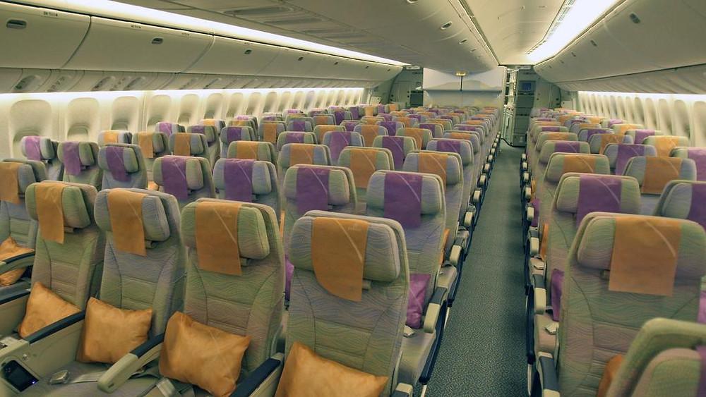 Emirates Economy class