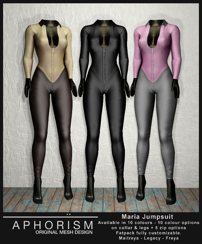 !APHORISM! Maria Jumpsuit - second life