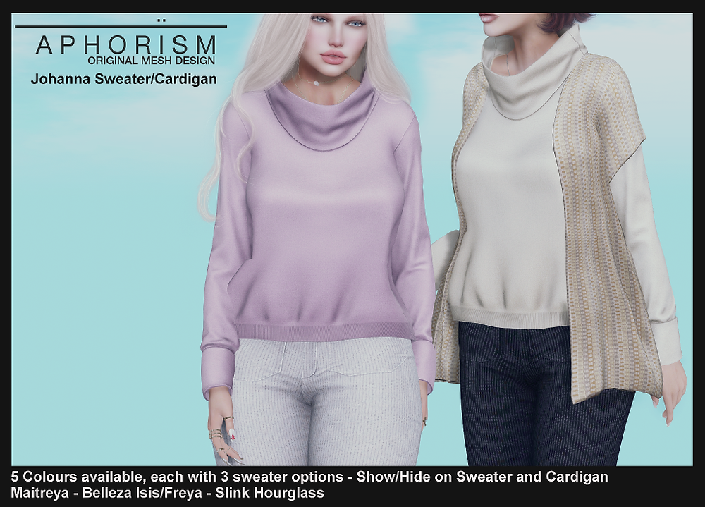 Aphorism Johanna Sweater Second Life