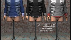 !APHORISM! Karl Winter Body Warmer @ Kustom9