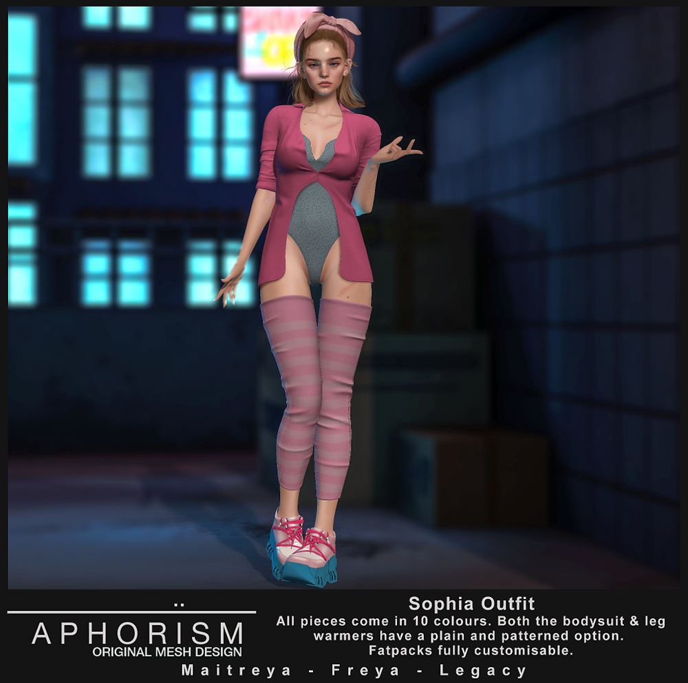 !APHORISM! Sophia Outfit - second life