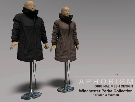 !APHORISM! Winchester Parka Jackets out now!