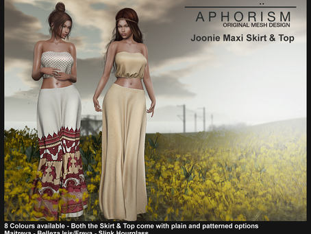 !APHORISM! Joonie Maxi Skirt and Top @ FaMESHed