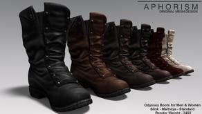 !APHORISM! Odyssey Boots @ The Secret Affair.