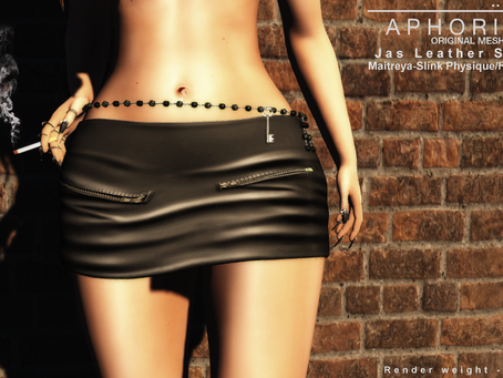 !APHORISM! Jas Leather Skirt @ Tres Chic